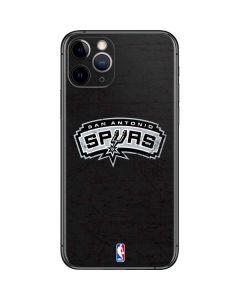 San Antonio Spurs Distressed iPhone 11 Pro Skin