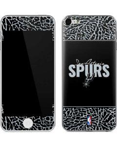 San Antonio Spurs Elephant Print Apple iPod Skin
