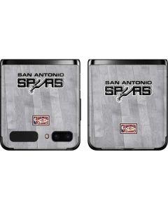 San Antonio Spurs Hardwood Classics Galaxy Z Flip Skin