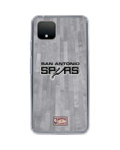 San Antonio Spurs Hardwood Classics Google Pixel 4 XL Clear Case
