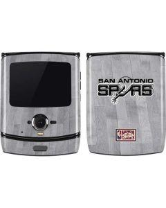 San Antonio Spurs Hardwood Classics Motorola RAZR Skin