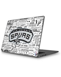 San Antonio Spurs Historic Blast Apple MacBook Pro 17-inch Skin