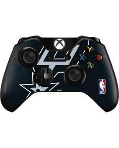 San Antonio Spurs Large Logo Xbox One Controller Skin