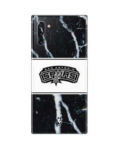 San Antonio Spurs Marble Galaxy Note 10 Skin