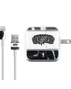 San Antonio Spurs Marble iPad Charger (10W USB) Skin
