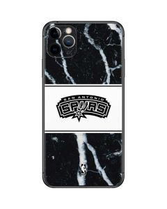 San Antonio Spurs Marble iPhone 11 Pro Max Skin