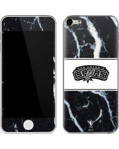San Antonio Spurs Marble Apple iPod Skin