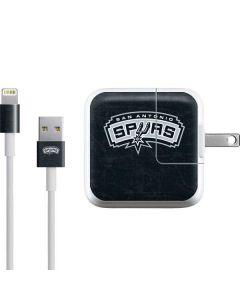 San Antonio Spurs Primary Logo iPad Charger (10W USB) Skin