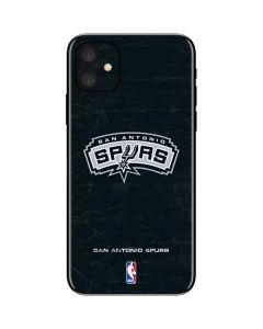 San Antonio Spurs Primary Logo iPhone 11 Skin
