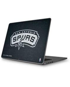 San Antonio Spurs Primary Logo Apple MacBook Pro 17-inch Skin
