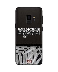 San Antonio Spurs Retro Palms Galaxy S9 Skin