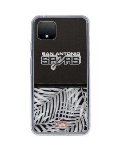 San Antonio Spurs Retro Palms Google Pixel 4 XL Clear Case