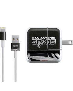 San Antonio Spurs Retro Palms iPad Charger (10W USB) Skin
