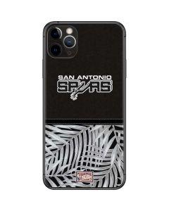 San Antonio Spurs Retro Palms iPhone 11 Pro Max Skin