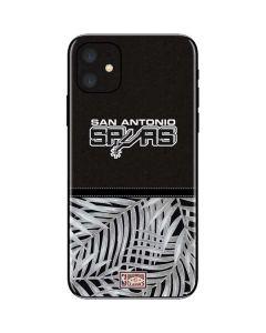 San Antonio Spurs Retro Palms iPhone 11 Skin