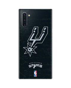 San Antonio Spurs Secondary Logo Galaxy Note 10 Skin