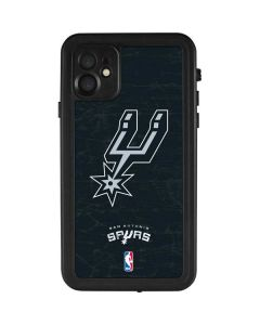 San Antonio Spurs Secondary Logo iPhone 11 Waterproof Case