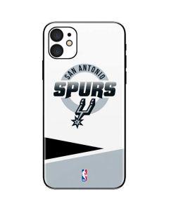 San Antonio Spurs Split iPhone 11 Skin