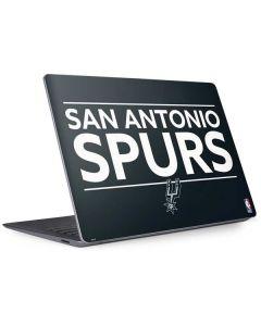 San Antonio Spurs Standard - Black Surface Laptop 3 13.5in Skin