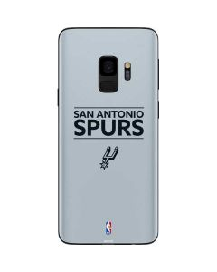 San Antonio Spurs Standard - Grey Galaxy S9 Skin