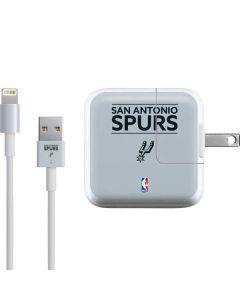 San Antonio Spurs Standard - Grey iPad Charger (10W USB) Skin