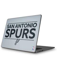San Antonio Spurs Standard - Grey Apple MacBook Pro 17-inch Skin
