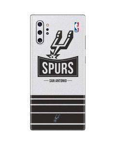 San Antonio Spurs Static Galaxy Note 10 Plus Skin