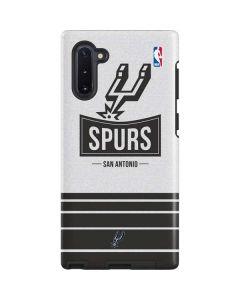 San Antonio Spurs Static Galaxy Note 10 Pro Case