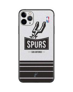 San Antonio Spurs Static iPhone 11 Pro Max Skin