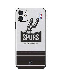 San Antonio Spurs Static iPhone 11 Skin