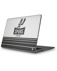 San Antonio Spurs Static Apple MacBook Pro 17-inch Skin