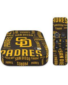 San Diego Padres - Cap Logo Blast Apple TV Skin