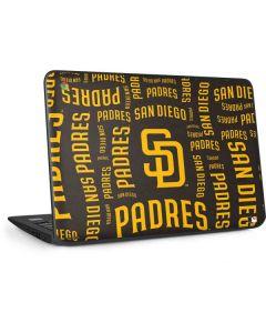 San Diego Padres - Cap Logo Blast HP Chromebook Skin