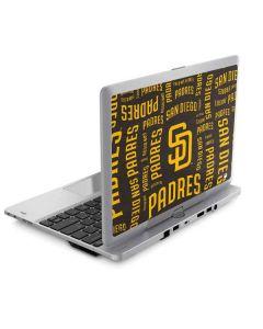 San Diego Padres - Cap Logo Blast Elitebook Revolve 810 Skin