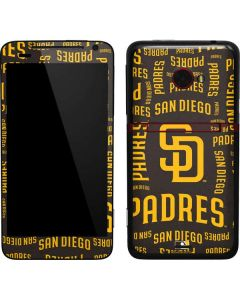 San Diego Padres - Cap Logo Blast EVO 4G LTE Skin