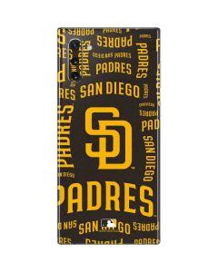 San Diego Padres - Cap Logo Blast Galaxy Note 10 Skin
