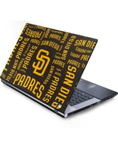 San Diego Padres - Cap Logo Blast Generic Laptop Skin