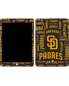 San Diego Padres - Cap Logo Blast Apple iPad Skin