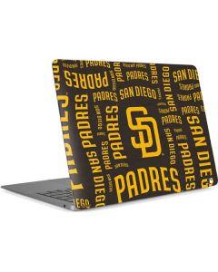 San Diego Padres - Cap Logo Blast Apple MacBook Air Skin
