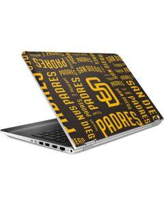 San Diego Padres - Cap Logo Blast HP Pavilion Skin