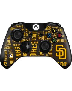 San Diego Padres - Cap Logo Blast Xbox One Controller Skin