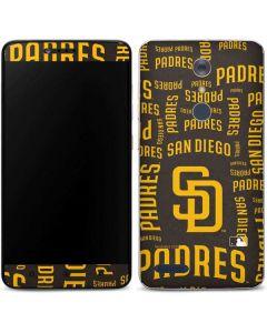 San Diego Padres - Cap Logo Blast ZTE ZMAX Pro Skin