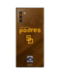 San Diego Padres - Cooperstown Distressed Galaxy Note 10 Skin
