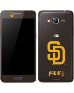 San Diego Padres - Solid Distressed Galaxy Grand Prime Skin