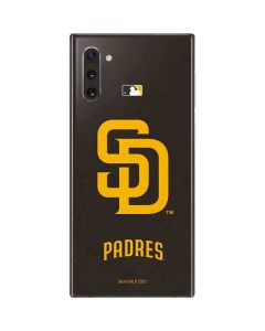 San Diego Padres - Solid Distressed Galaxy Note 10 Skin