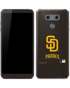 San Diego Padres - Solid Distressed LG G6 Skin