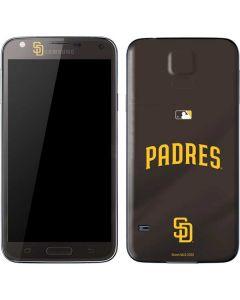 San Diego Padres Alternate Jersey Galaxy S5 Skin