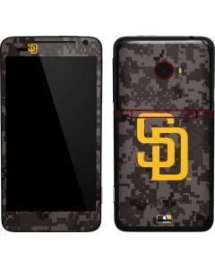 San Diego Padres Camouflage #2 EVO 4G LTE Skin
