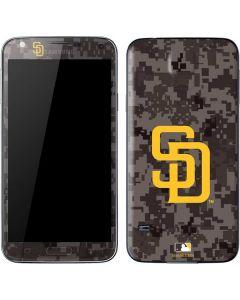 San Diego Padres Camouflage #2 Galaxy S5 Skin