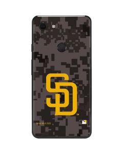 San Diego Padres Camouflage #2 Google Pixel 3 XL Skin